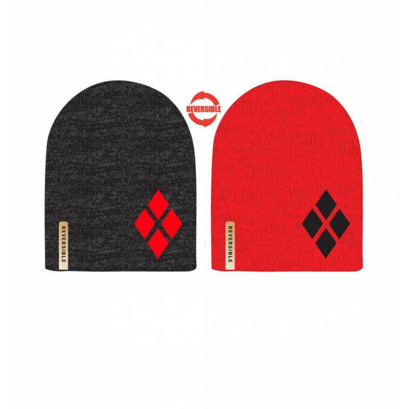 Batman - Harley Quinn Embroidered Reversible Beanie