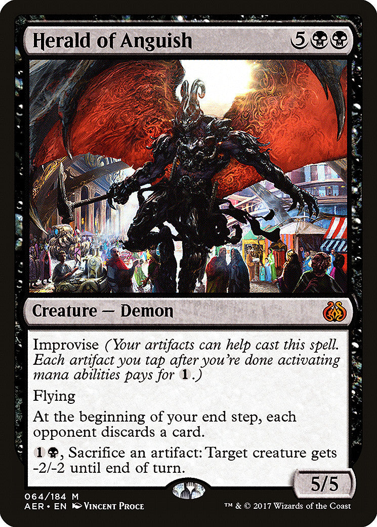 Aether Revolt Herald of Anguish