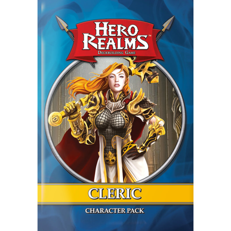 Hero Realms Cleric Character Pack