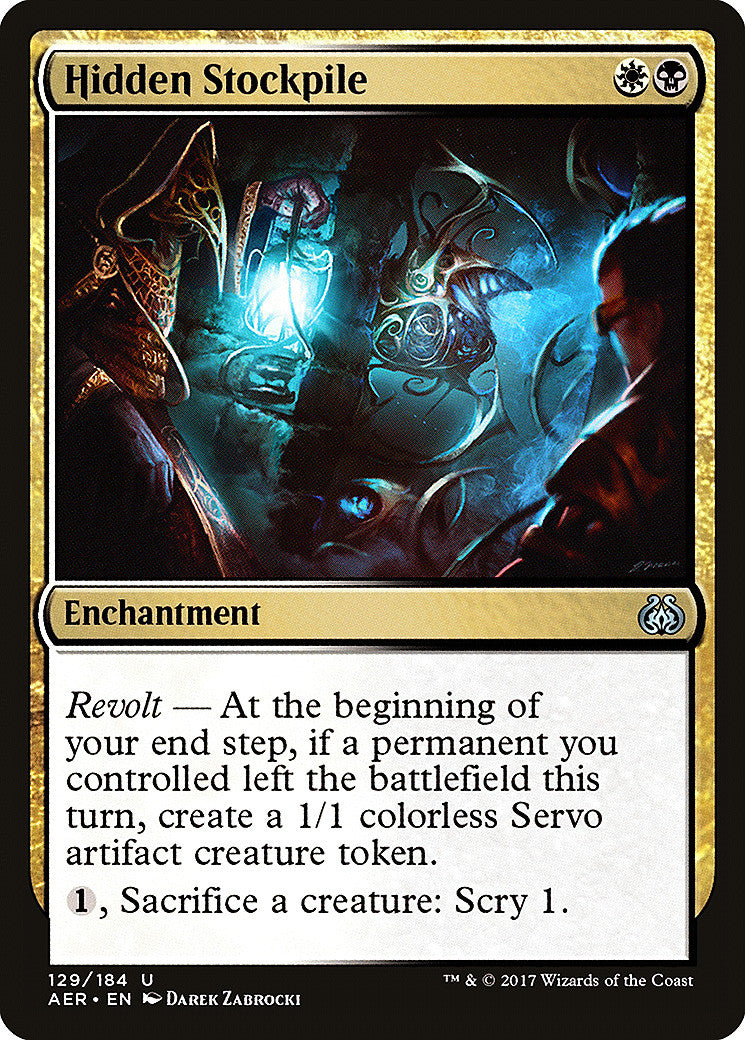 Aether Revolt Hidden Stockpile