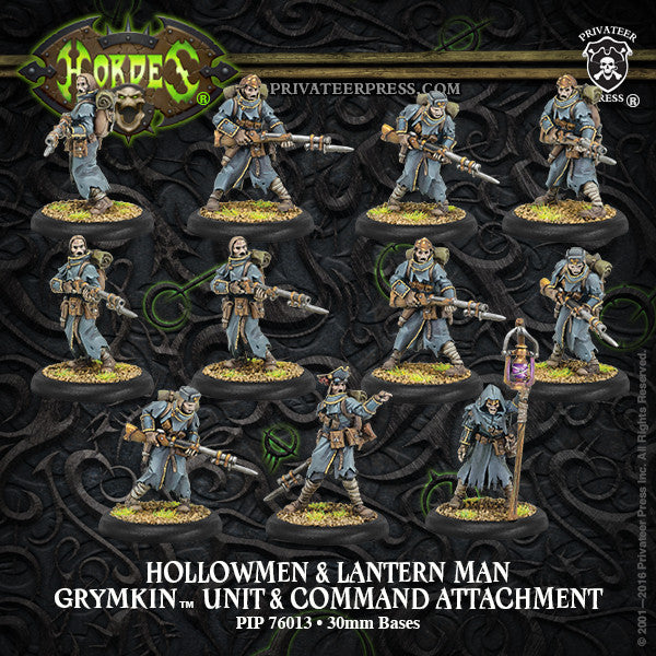 Hordes Grymkin Hollowmen and Lantern Man