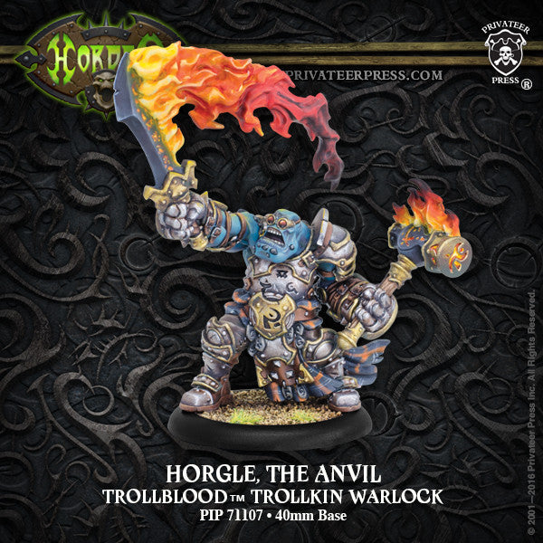 Hordes Trollbloods Horgle The Anvil