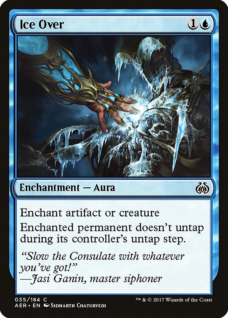 Aether Revolt Ice Over