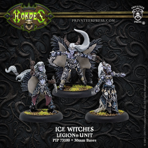 Hordes Legion of Everblight Ice Witches