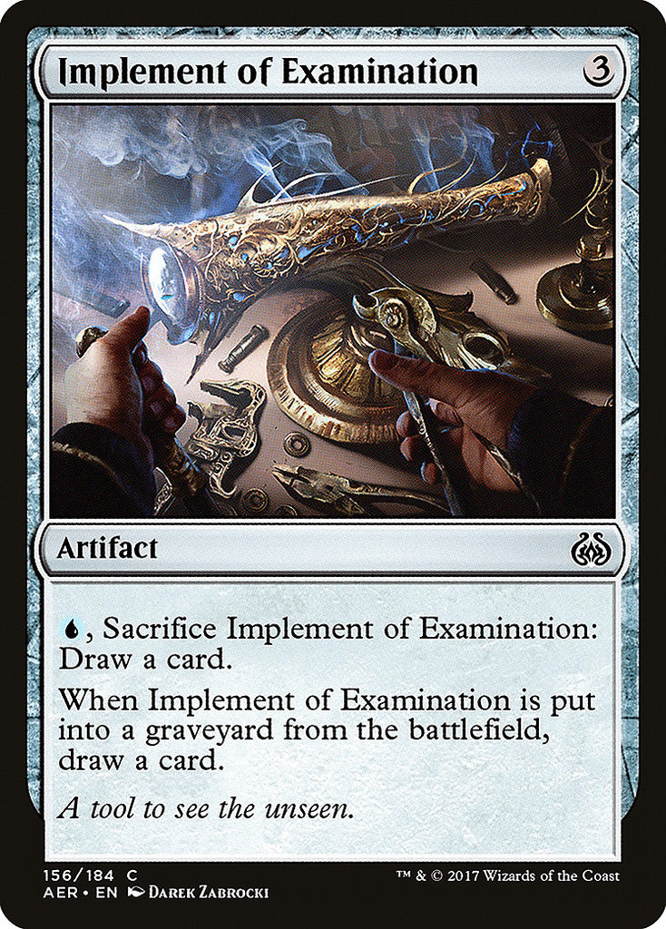 Aether Revolt Implement of Examination