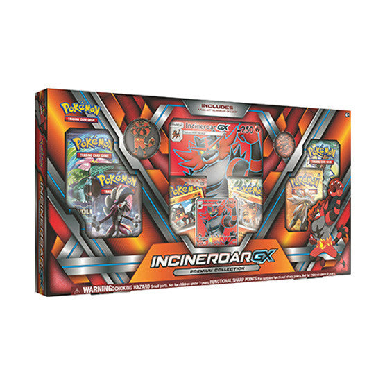 Pokémon Incineroar GX Premium Collection