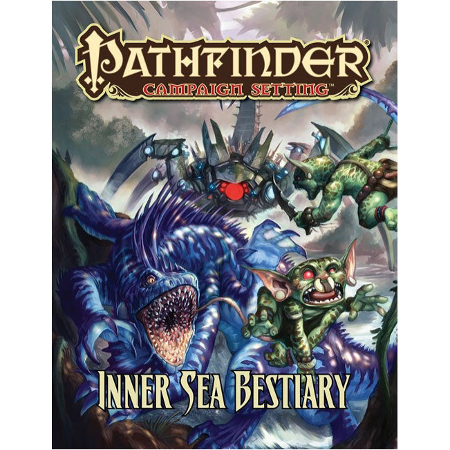 Pathfinder Campaign Setting Inner Sea Bestiary