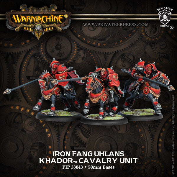 Warmachine Khador Iron Fang Uhlans