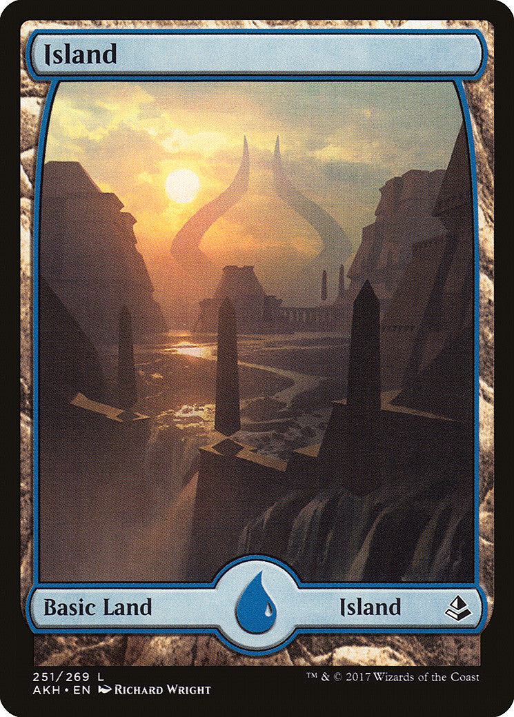 Amonkhet Island Full Art (251)