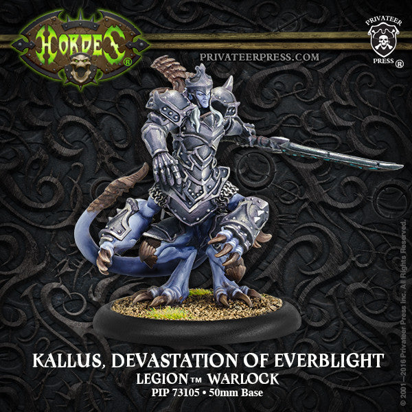 Hordes Legion of Everblight Kallus, Devastation of Everblight