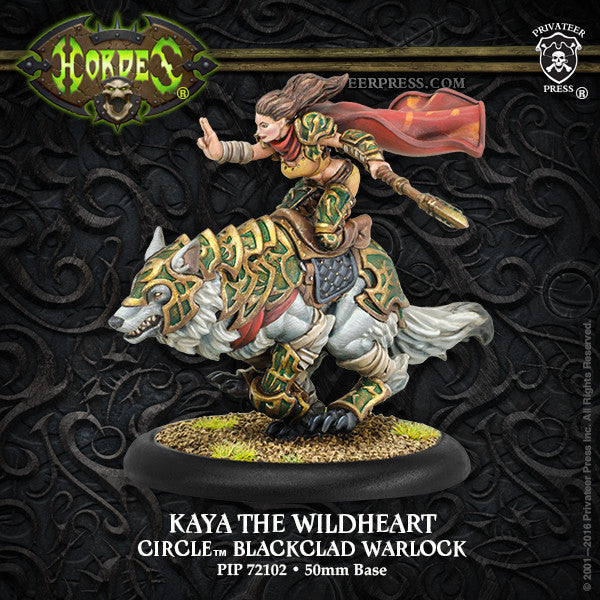 Hordes Circle Orboros Kaya The Wildheart