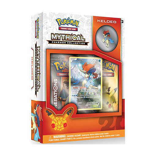 Pokémon Keldeo Mythical Collection