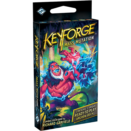 Keyforge Mass Mutation Deluxe Deck