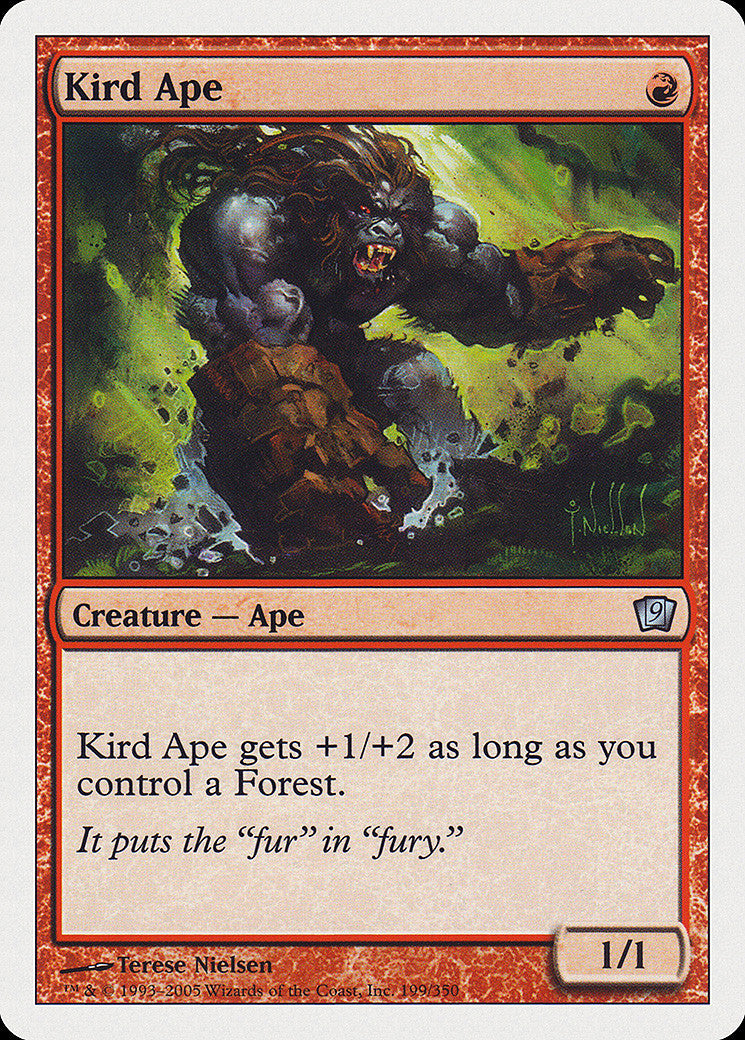 9th Edition Kird Ape