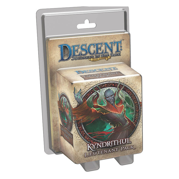 Descent 2nd Edition Kyndrithul Lieutenant Pack
