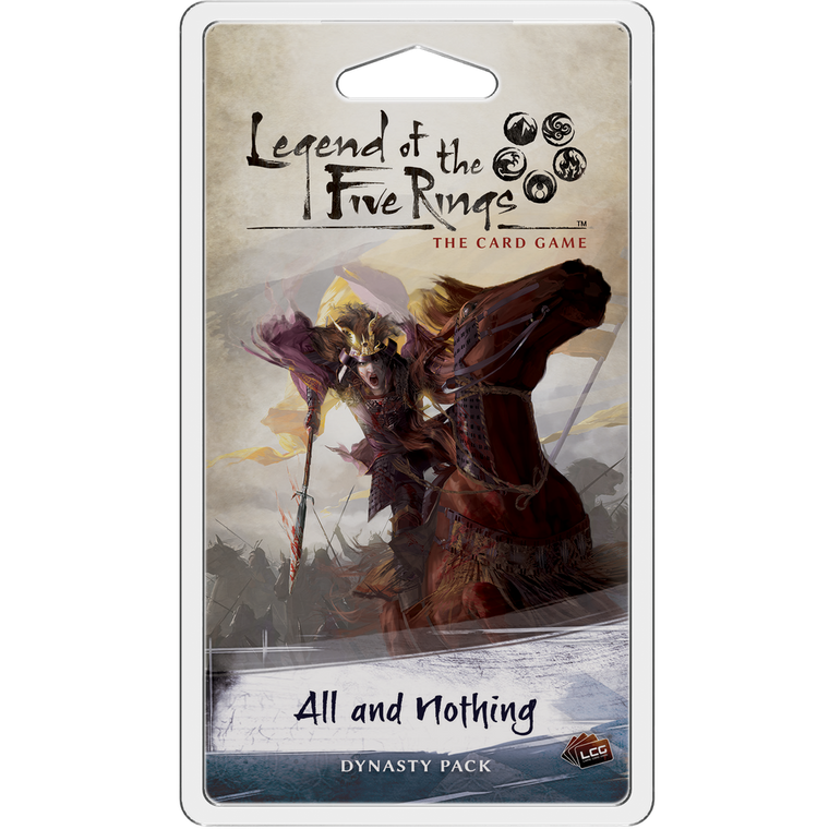 Legend of the Five Rings LCG All and Nothing Dynasty Pack