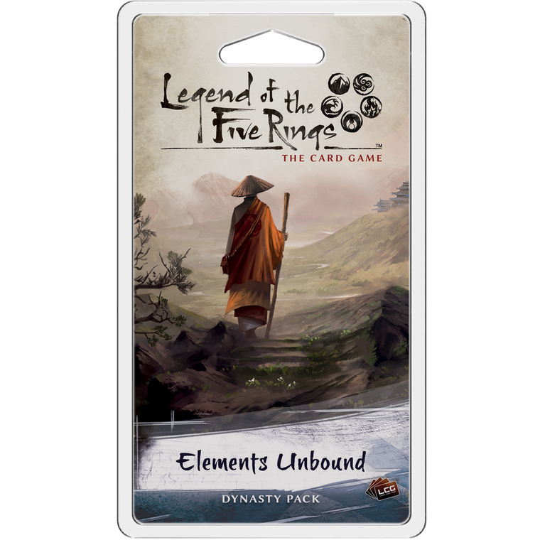 Legend of the Five Rings LCG Elements Unbound Dynasty Pack