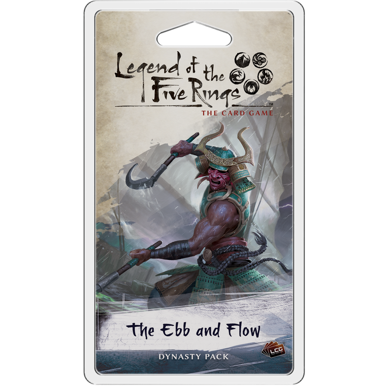 Legend of the Five Rings LCG The Ebb and Flow Dynasty Pack