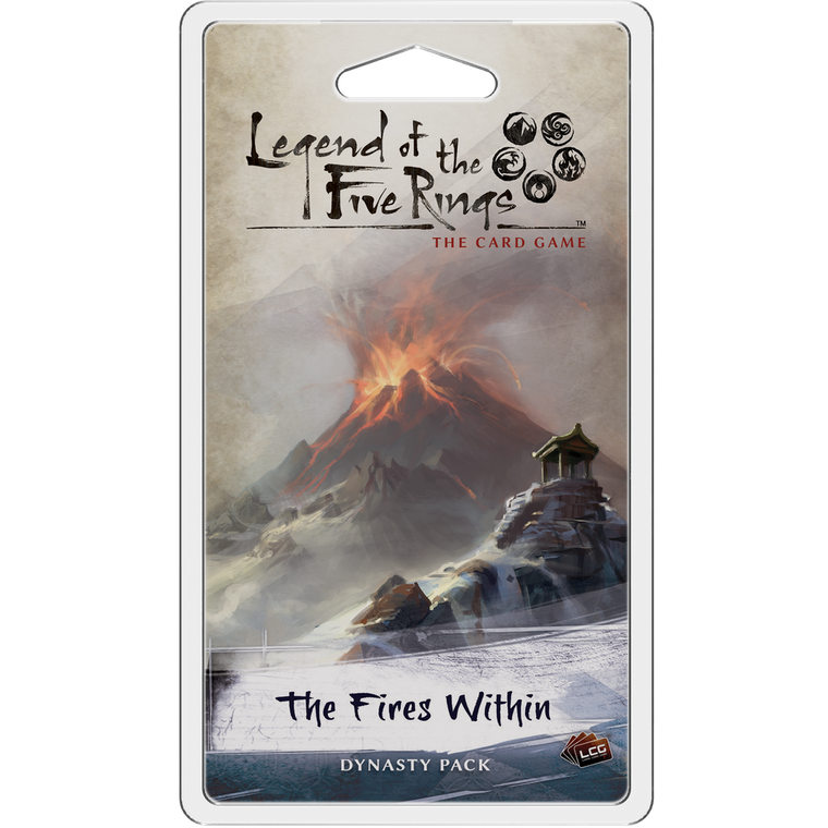 Legend of the Five Rings LCG The Fires Within Dynasty Pack