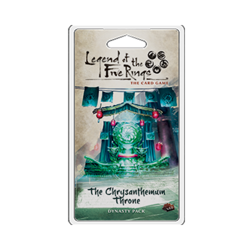 Legend of the Five Rings The Chrysanthemum Throne Dynasty Pack