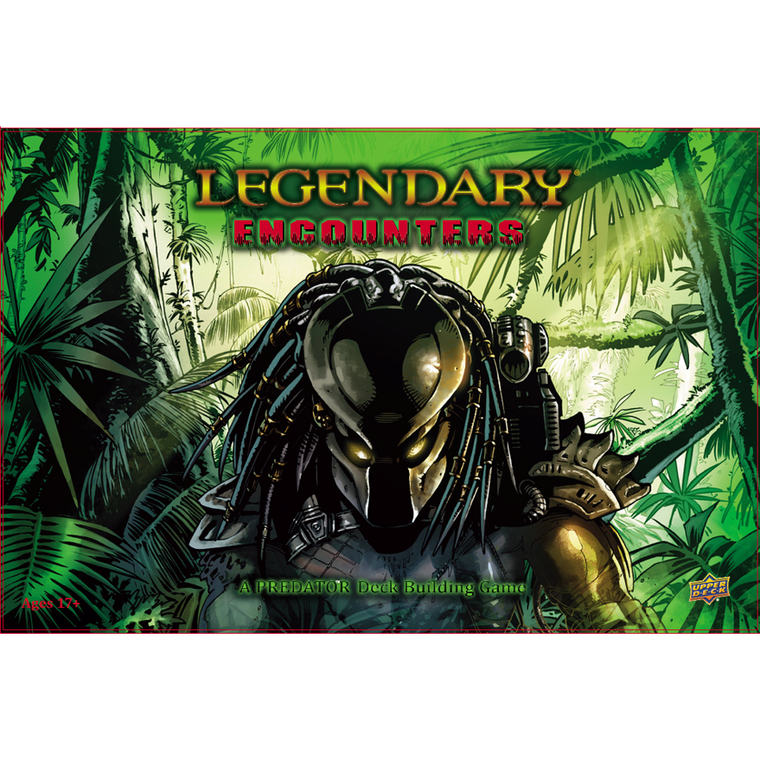Legendary Encounters A Predator Deck Building Game