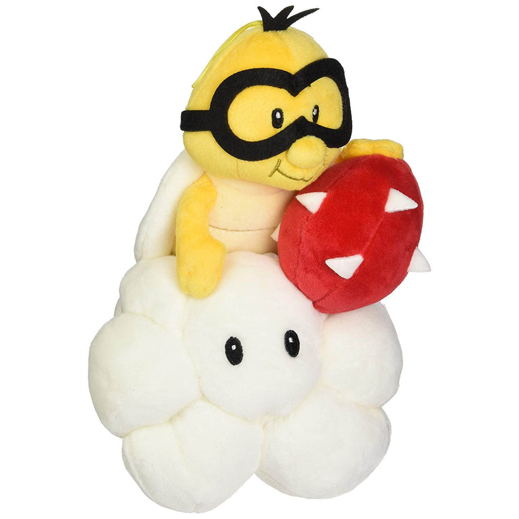 "Little Buddy Super Mario Bros. All Star Collection Lakitu 9"" Plush"