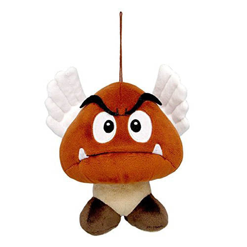 "Little Buddy Super Mario Bros. Paragoomba 5"" Plush"
