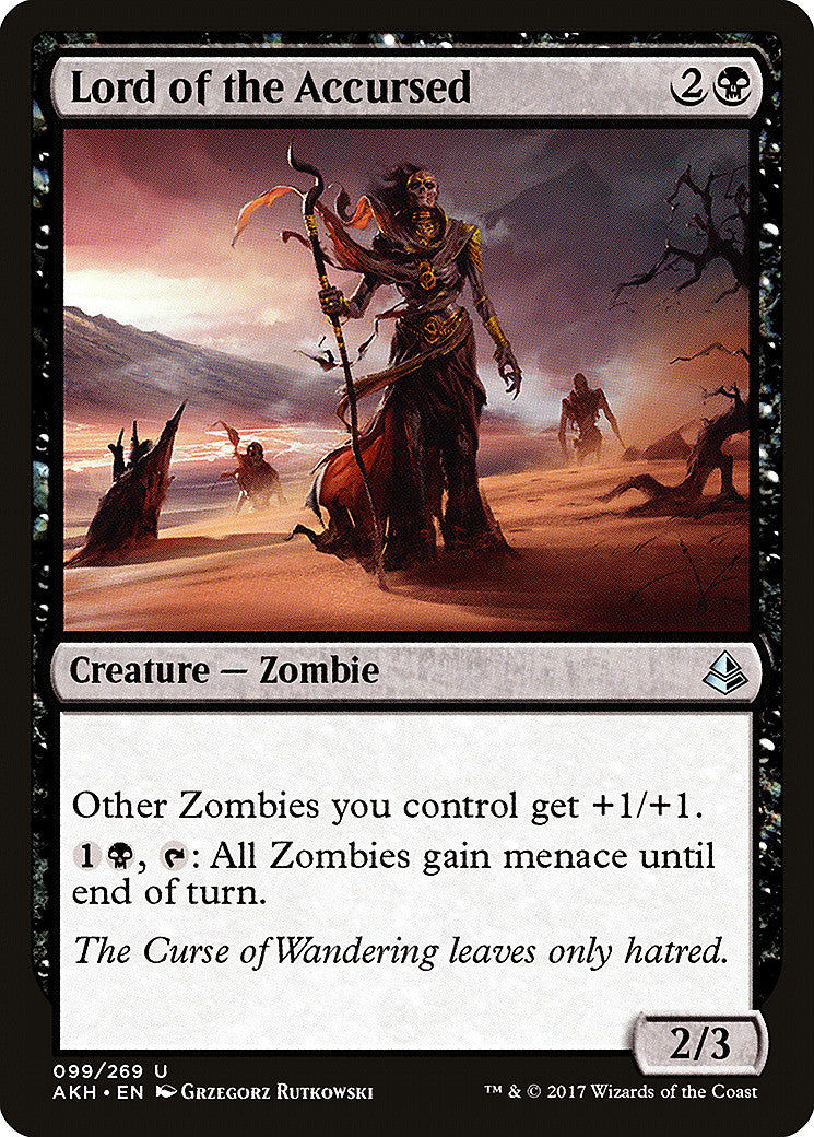 Amonkhet Lord of the Accursed FOIL