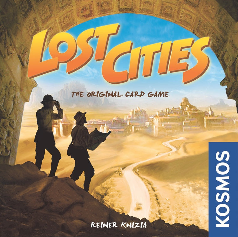 Lost Cities The Original Card Game With 6th Expedition