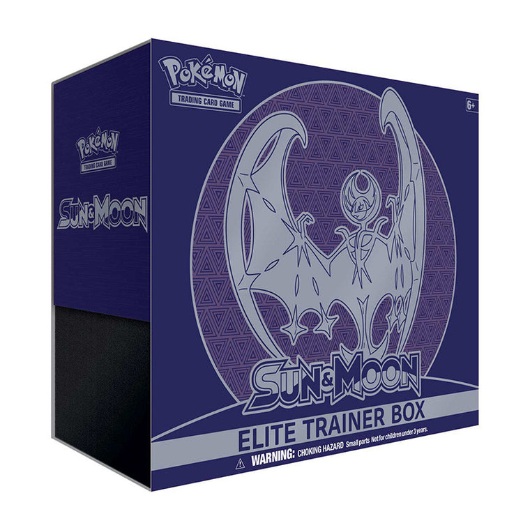 Pokémon Sun & Moon Lunala Elite Trainer Box