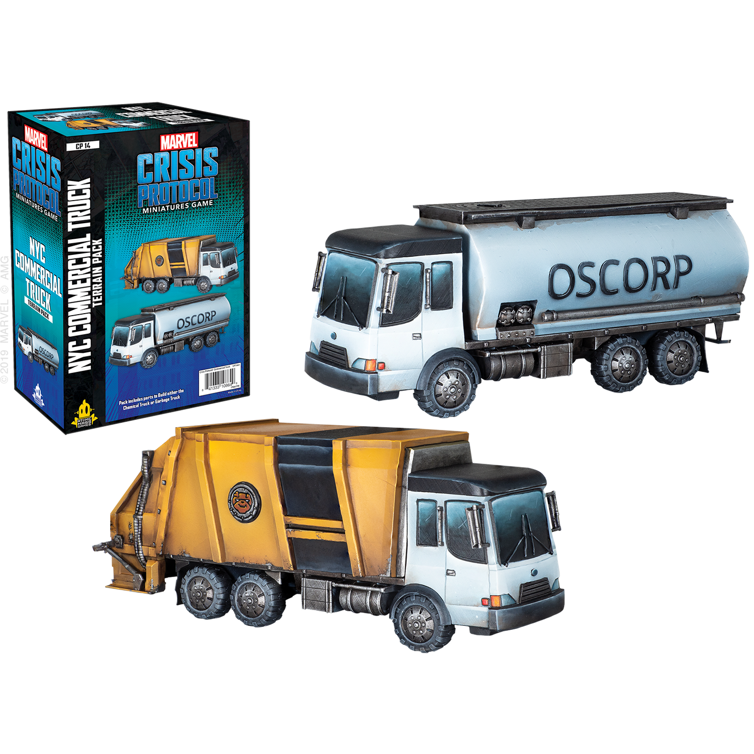 Marvel: Crisis Protocol – NYC Commercial Truck Terrain Pack