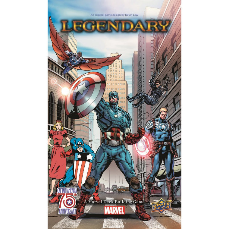 Marvel Legendary Captain America 75th Anniversary