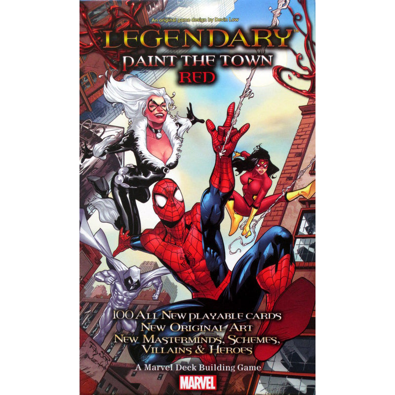 Marvel Legendary Paint the Town Red