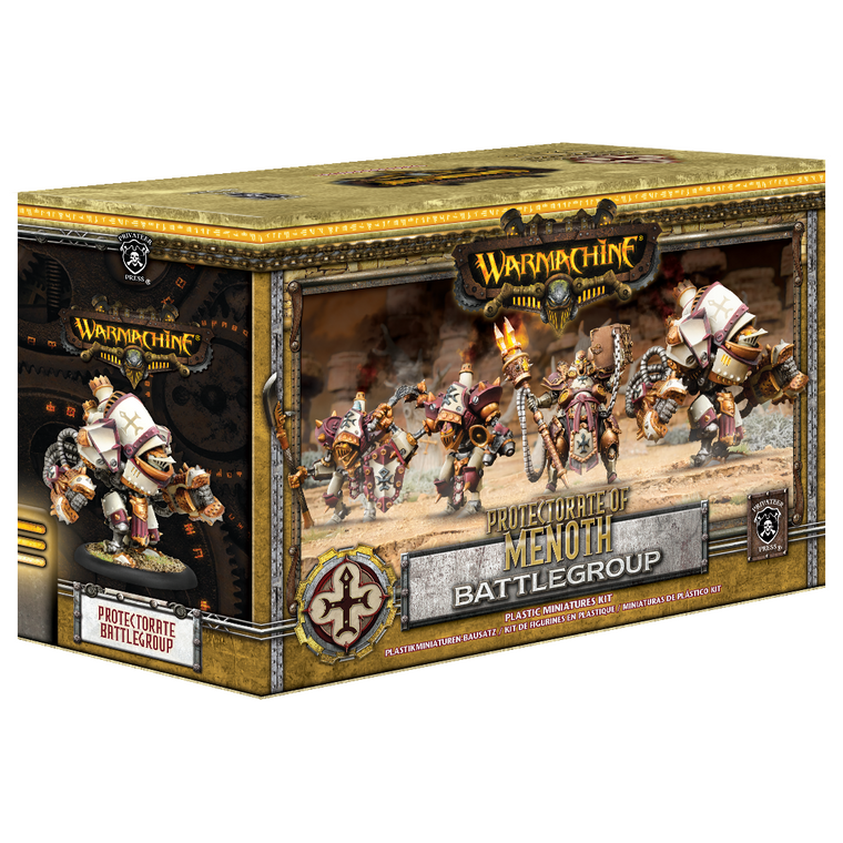Warmachine Protectorate of Menoth Battlegroup