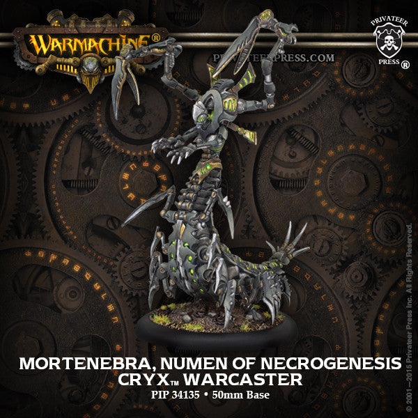 Warmachine Cryx Mortenebra, Numen of the Necrogenesis