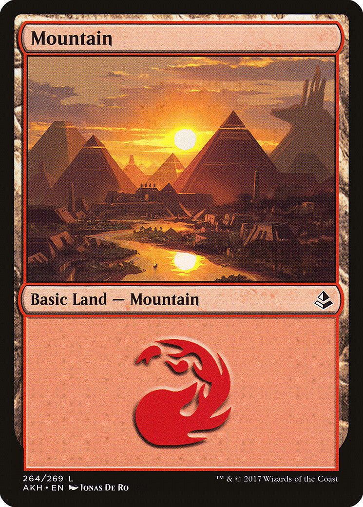 Amonkhet Mountain (264) FOIL