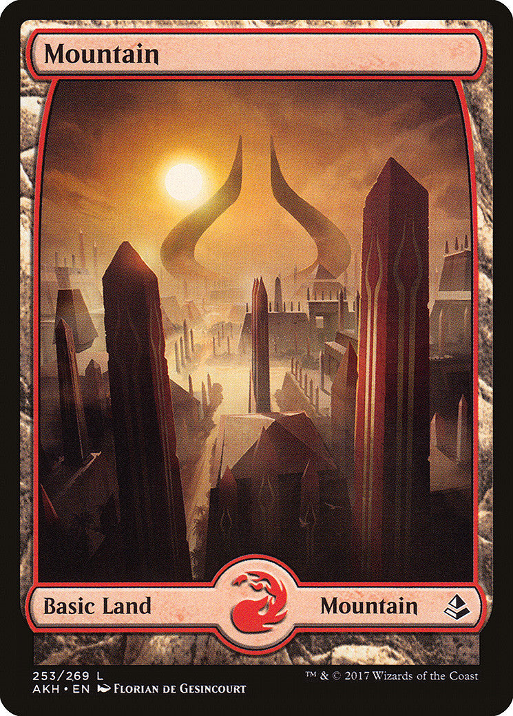 Amonkhet Mountain Full Art (253)
