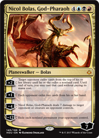 Hour of Devastation Nicol Bolas, God-Pharaoh