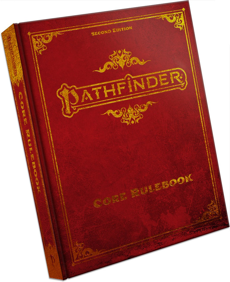 PRE-ORDER Pathfinder Second Edition Core Rulebook Deluxe Hardcover