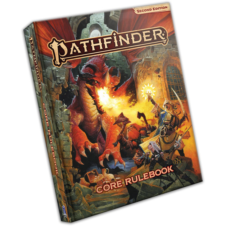 PRE-ORDER Pathfinder Second Edition Core Rulebook Hardcover