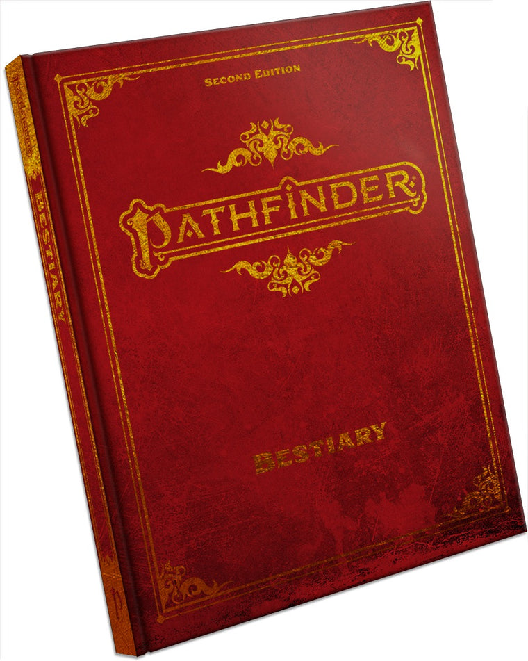 Pathfinder Second Edition Bestiary Deluxe Hardcover