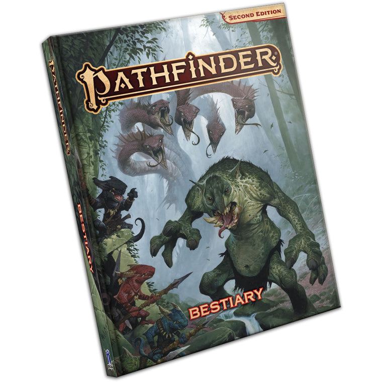 Pathfinder Second Edition Bestiary Hardcover