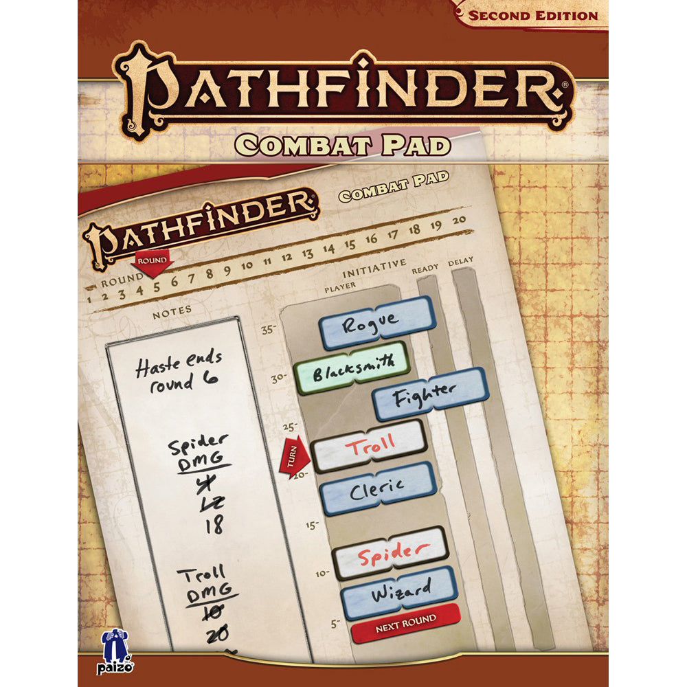 Pathfinder Second Edition Combat Pad