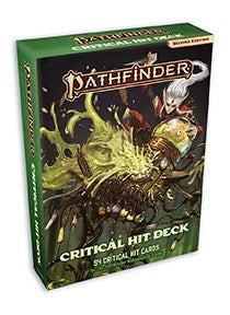 Pathfinder Second Edition Critical Hit Deck