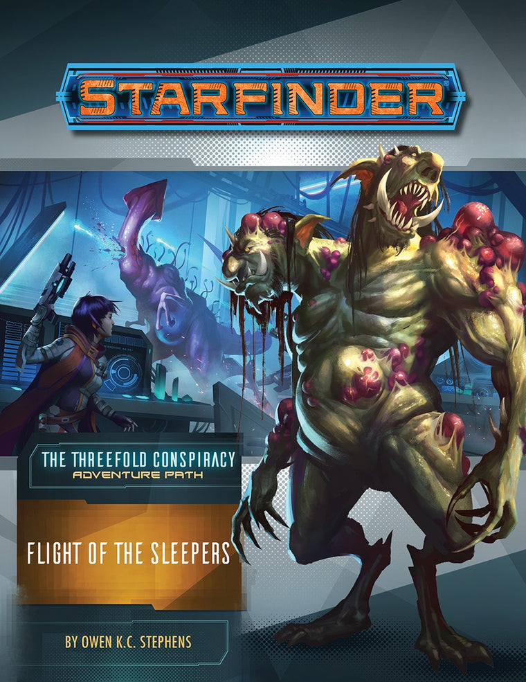 Starfinder Adventure Flight of the Sleepers The Threefold Conspiracy 2 of 6