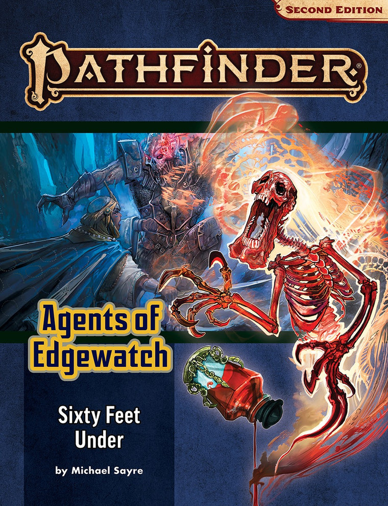 Pathfinder Second Edition Adventure Path #158: Sixty Feet Under (Agents of Edgewatch 2 of 6)