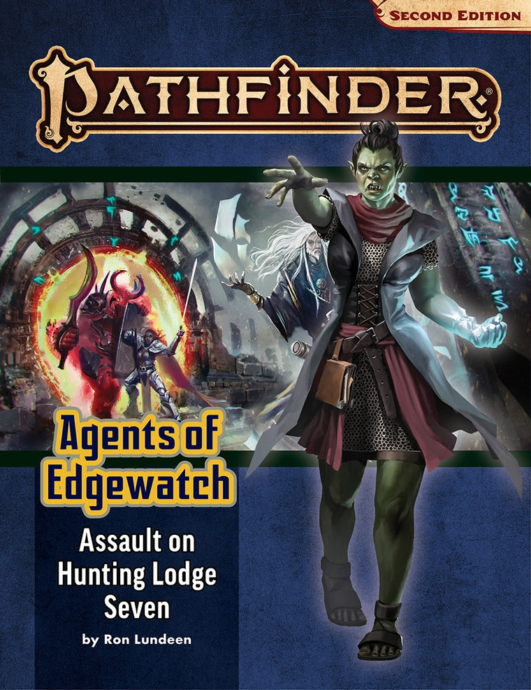 Pathfinder Second Edition Adventure Path #160: Assault on Hunting Lodge Seven (Agents of Edgewatch 4 of 6)
