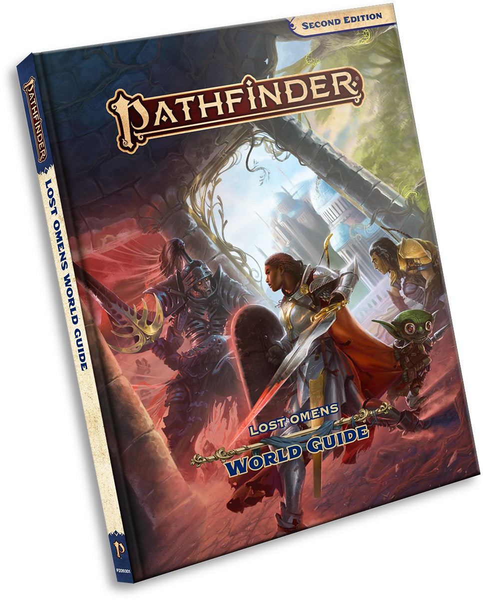 Pathfinder Second Edition Lost Omens World Guide Hardcover