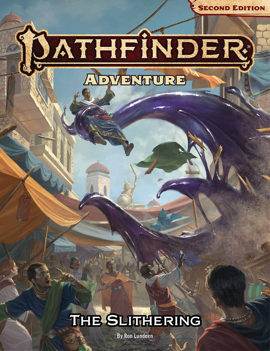 Pathfinder Second Edition Adventure The Slithering