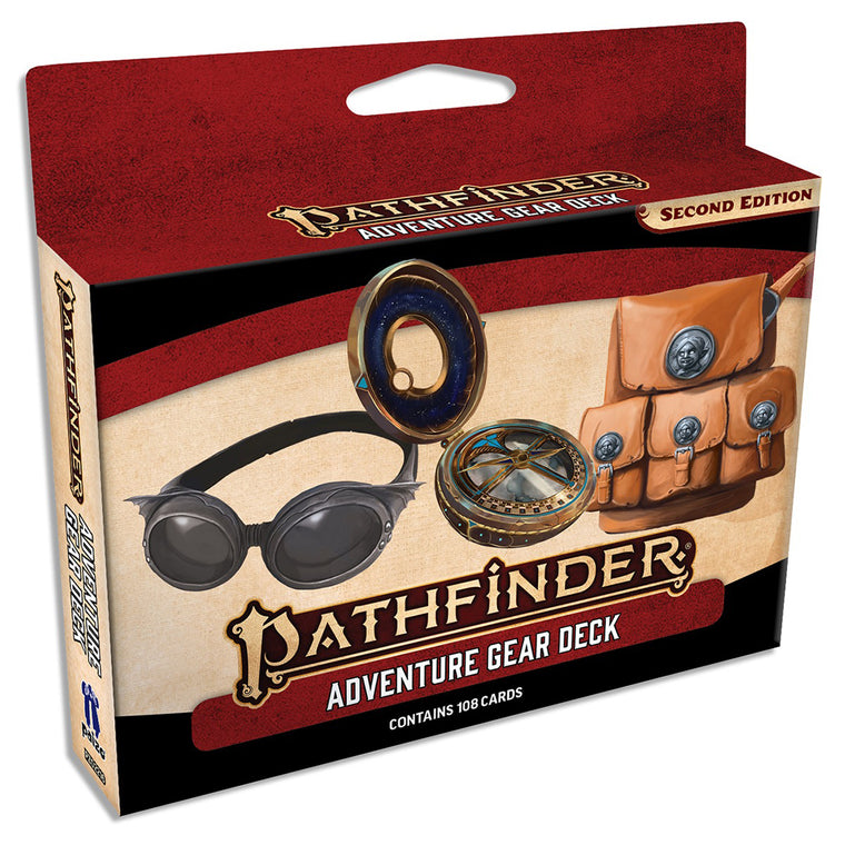 Pathfinder Second Edition Adventure Gear Deck